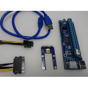 Riser Egpu Mini Pci-e Pcie Express 16x Placa Vídeo Notebook