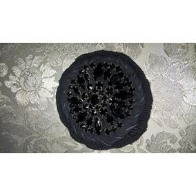 Broche Prada (8cmx8cm) Com Pedras Original Importado