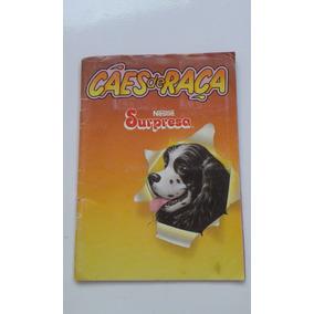 Álbum Surpresa Cães De Raça Bom Estado Incompleto