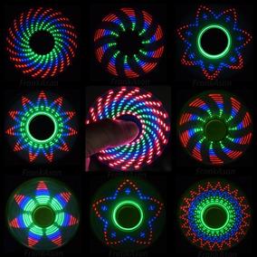 Spiner Color Blanco Con Luz Led