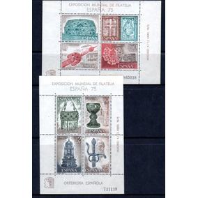 Blocos Espanha 1975 Novos Mint