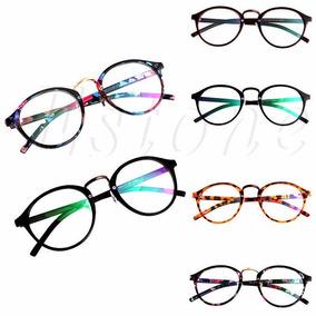 Armação Óculos Redondo Vintage Feminino Varias Cores De Sol - Óculos ... 5407b7d7e4