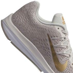 Tenis Deportivo Para Correr Nike Zoom Winflo C Nude Kw728