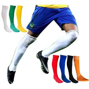 Kit Meião D Futebol 40 Pares Com Pés 100%algodão Cores+frete aa34b67e42073