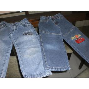 Kit Com 5 Pçs Tam 2 /3 Anos .calças E Bermudas Jeans