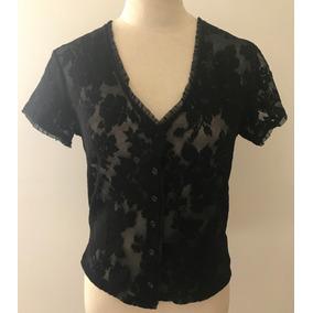 398fcb0c7 Blusa Negra Con Vuelos Divina! Camisas Chombas Blusas Mujer - Ropa y ...