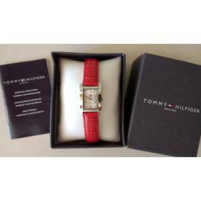 f18ba2fc1a4 Relógio Feminino Branco Tommy Hilfiger Mod. 1700341 Original ...