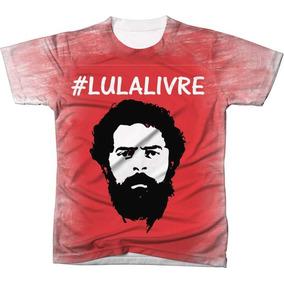 016bb2b91 Camisa Lula Presidiario - Camisetas e Blusas para Masculino em São ...