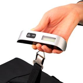 Bascula Digital Pesa Equipaje Viaje Vacaciones C/baterias In
