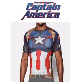 07b4ac5d Playera Capitán América Marvel Avengers Under Armour