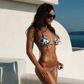 3082102bb286 Traje De Baño 2 Piezas Bikini Brasileño Bikini Dama Playa