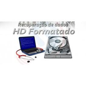 Recuperar Dados Hd /pendrive/cartão Memoria (envio Agora)