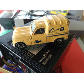 Brinquedo Antigo Majorette Renault 4 L N-°230 Raro France