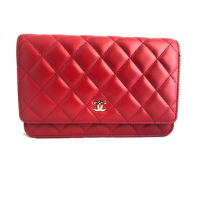 Bolsa Chanel Woc Couro Lambskin Com Caixa - Pronta Entrega