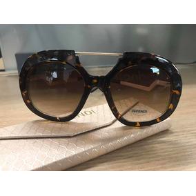eadfb1611b61b Oculos De Sol Feminino Quadrado Degrade Fendi - Óculos no Mercado ...