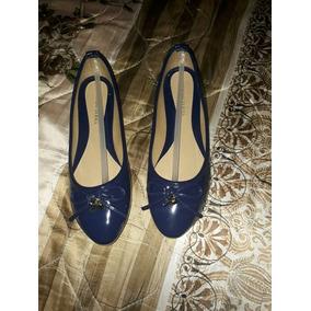 Zapatos Azules Nuevos, , Botas Café Y Lentes