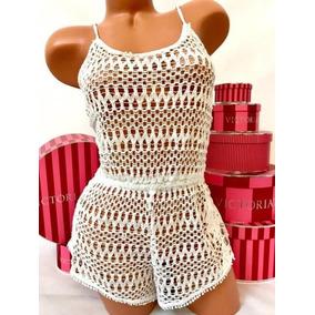 Ropa Playa Victorias Secret Pareo Romper Encaje Extra-grande 202a76d77c8