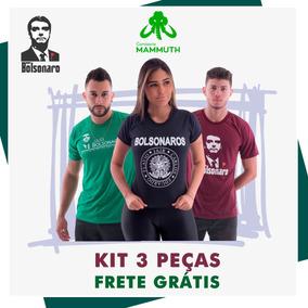 a230010fcc Camisa Bolsonaro Kit Misto 3 Peças Frete Grátis. R  168