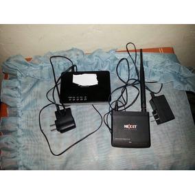 Moden Router Adsl2 Y Router O Repetidor De Wifi Nexxt