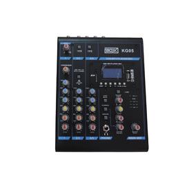 Mesa De Som Mixer Boxx Kg05 5 Canais C/ Mp3 Player Usb