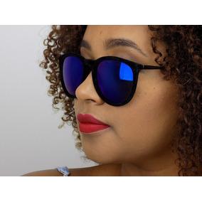 90fec17b7d303 Oculos Escuros Redondo Espelhado Colorido De Sol - Óculos no Mercado ...