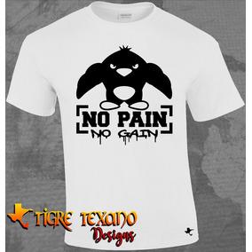 Playera Crossfit No Pain Pingüino By Tigre Texano Designs