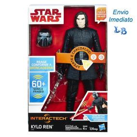 Boneco Star Wars Kylo Ren 30 Cm Episódio 8 Original Hasbro