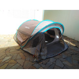Barraca Camping Quechua 3xl 2 Seconds Impermeavel 3 Lugares