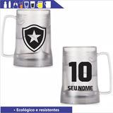 Caneca Botafogo Gel Congelante 350ml - Personalizada Nome 58a3761e4a1