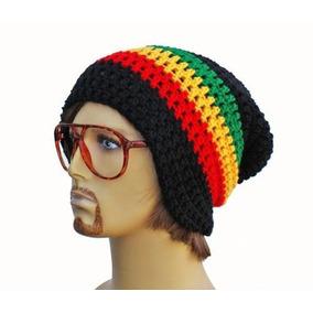 Gorro Touca Reggae Jamaica De Croche Beanie - Art Croche 3cdb16da9c6