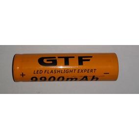 Gtf 18650 Bateria Recarregável 3.7 V 9900ma Lanterna