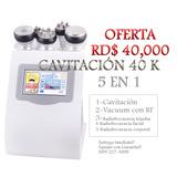 Cavitacion 5 En 1 Con Radiofrecuencia Para Estetica