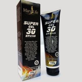 Kit 12 Super Gel 30 Ervas - Mary Life - Efeito Gelo & Quente