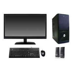 Computador Completo Core 2 Duo 4gb Hd 500gb Wifi Monitor 19