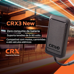 Rastreador E Bloqueador Crx3 New Original