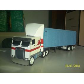 Camion A Escala Kw K100 1/32 Hecho A Mano