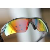 7cc5c138e6a80 Óculos Ciclismo 5 Lentes Espelhado Polarizado Bike Comaxsun