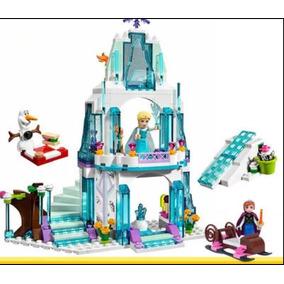 Blocos De Montar Frozen Princesa Elsa Olaf Lego Compatível