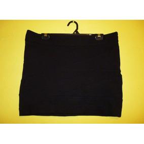 Minifalda Marca Express Streatch Negro Talla Grande 12 / 34