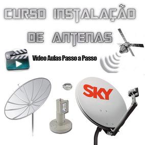 Instalação De Antenas Banda Ku E C!!!!completo