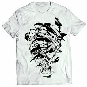 8df0188866396 Nike Tubarao Cinza - Camisetas Manga Curta para Masculino no Mercado ...
