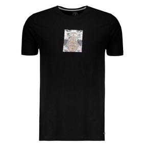 Camisetas Volcom Preta Masculino - Calçados 890e686bc17