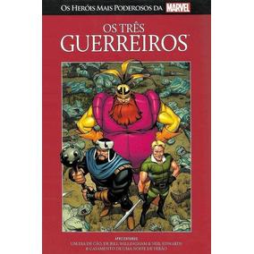 Os Três Guerreiros 12 Marvel Salvat Capa Vermelha