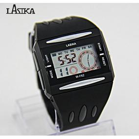 1a3b64763ed Relogio De Led Unissex Quadrado - Relógios no Mercado Livre Brasil