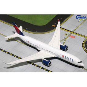 Maquete/miniatura Avião Airbus A350-900 Delta Airlines 1:400