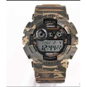 3a6143558c5 Relógio Casio G Shock Camuflado Original Com Nf
