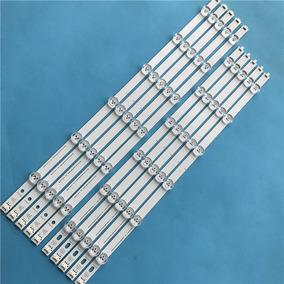 Barra Led Lg 55ln5400 55ln5700 55la6130 55la621 Kit Completo