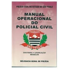 Livro Manual Operacional Do Policial Civil