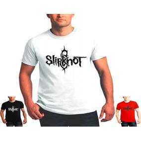Camiseta Slipknot Camisa Rock Metal Homem Moca Blusa Banda 4335da3acd7e4