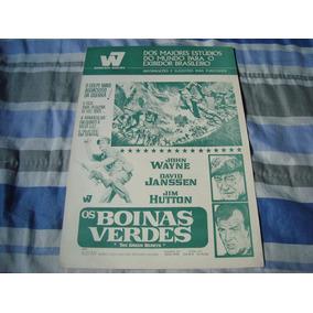 Cartaz Do Filme - Os Boinas Verdes - John Wayne